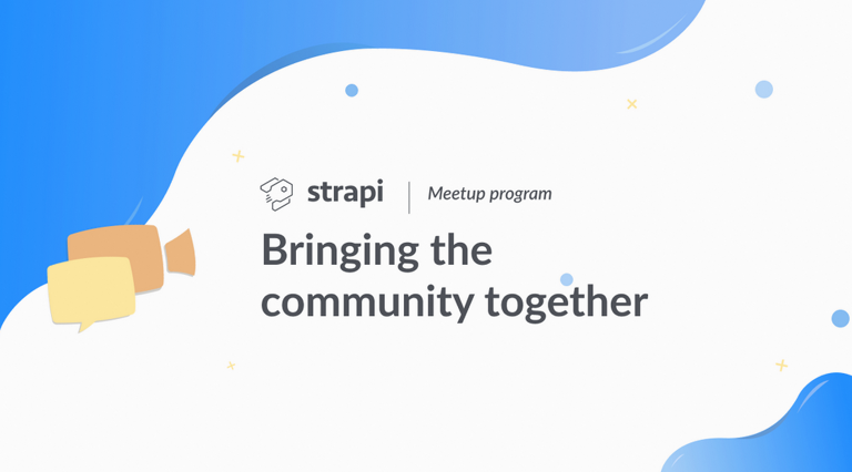 How to create a Strapi-meetup community